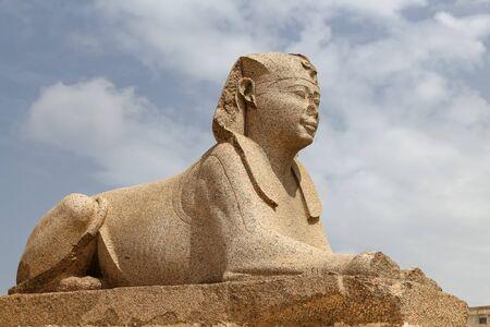 Sphinx in Serapeum of Alexandria, Alexandria City, Egypt