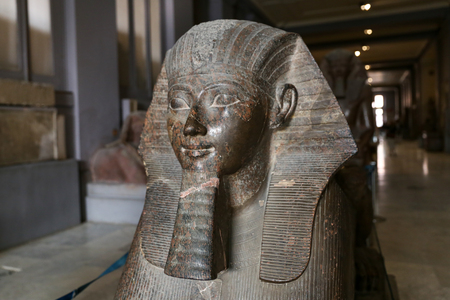 Sphinx in Egyptian Museum, Cairo City, Egypt