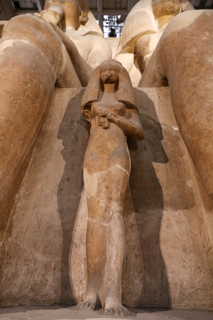 Staue in Egyptian Museum, Cairo City, Egypt