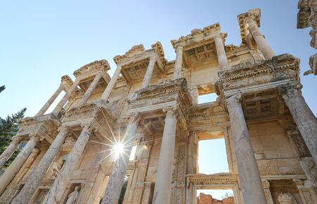 Library of Celsus in Ephesus, Selcuk Town, Izmir City, Turkey