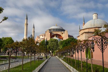 Hagia Sophia Museum in Sultanahmet, Istanbul City, Turkey