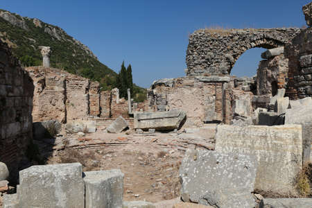 Ephesus Ancient City in Selcuk Town, Izmir City, Turkey