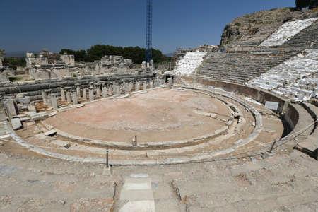 Grand Theater of Ephesus Ancient City, Izmir City, Turkey