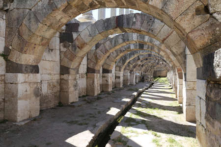 Agora of Smyrna in Izmir City, Turkey Stock Photo