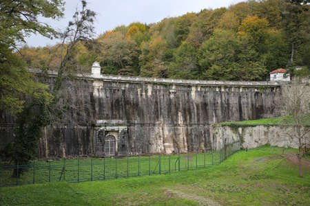 Old and historic dam in Istanbul, Turkey
