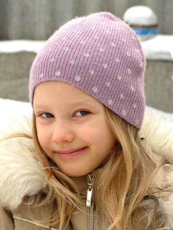 mixed race children: The joy of a child in a winters day The joy of a child in a winters day, facial expression