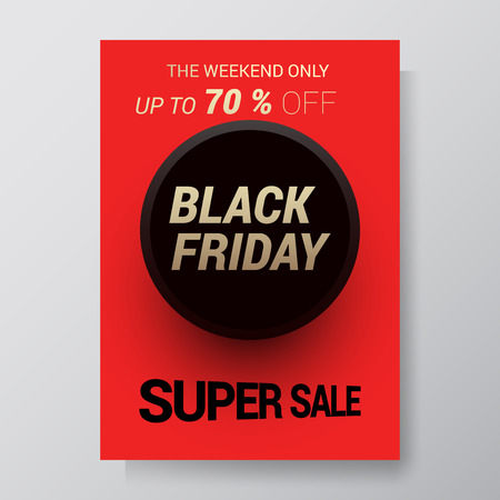 Black Friday Sale Abstract Background. Vector flyer with trend design.vector illustration. Eps 10 Illustration