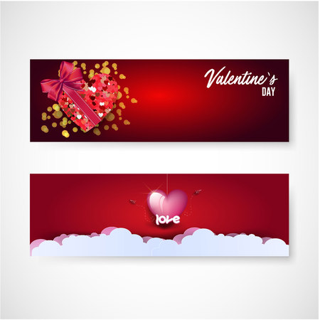 Valentines day sale background with icon set pattern. Vector illustration. Wallpaper, flyers, invitation, posters, brochure, voucher,banners. Illustration