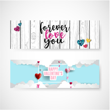Valentines day sale background with icon set pattern. Vector illustration. Wallpaper, flyers, invitation, posters, brochure, voucher,banners. Çizim