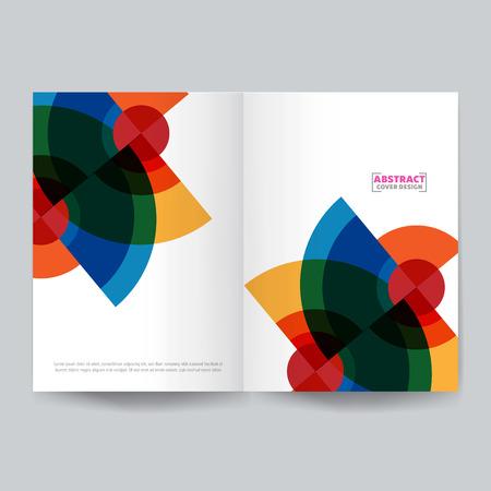Minimalist cover design.Vector illustration. Stock Vector - 123212645