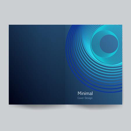 Minimalist cover design.Vector illustration. Illustration
