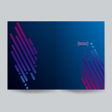 Minimalist cover design.Vector illustration. EPS 10