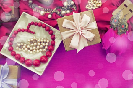 Decorative composition preparation for the holiday Decoration gifts Stockfoto