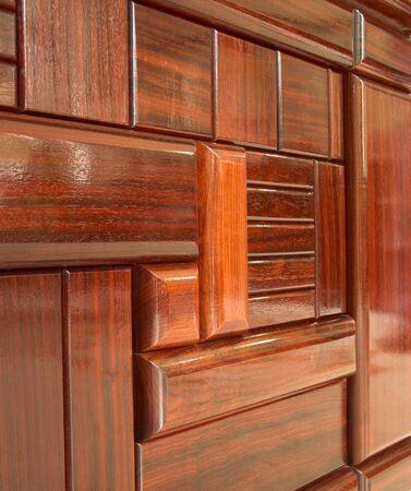 Wooden tiles, mosaic Stock Photo - 3431864
