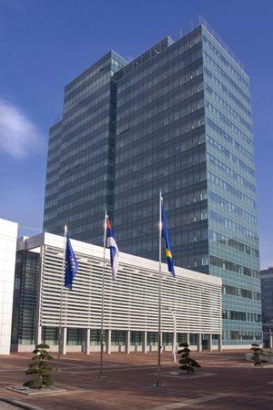 republika: New state administration building in Banja Luka, Republika Srpska, Bosnia and Herzegovina