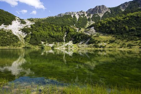 asl: Satorsko lake - in the western regions of Bosnia and Herzegovina at 1488 meters a.s.l. below �ator mountain