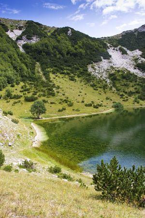asl: Satorsko lake - in the western regions of Bosnia and Herzegovina at 1488 meters a.s.l. below Šator mountain