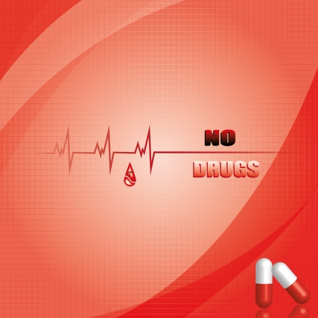 Abstract medical background Stock Vector - 14583199
