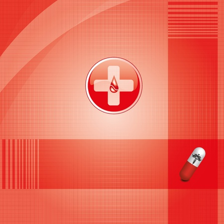 Abstract medical background Stock Vector - 14595984