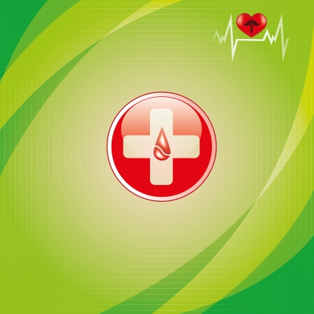 viral infection: Abstract medical background