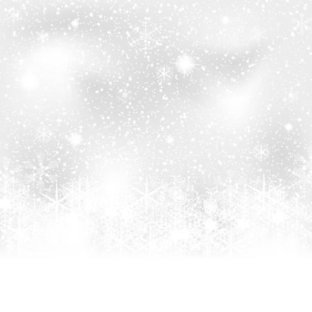 R�sum� bleu blanc de fond l'hiver Illustration