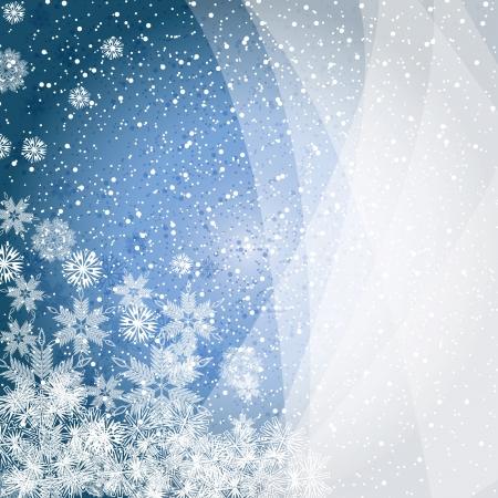 Résumé, bleu, hiver, Noël de fond