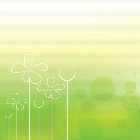 Beautiful green stripe spring background Stock Vector - 16656178