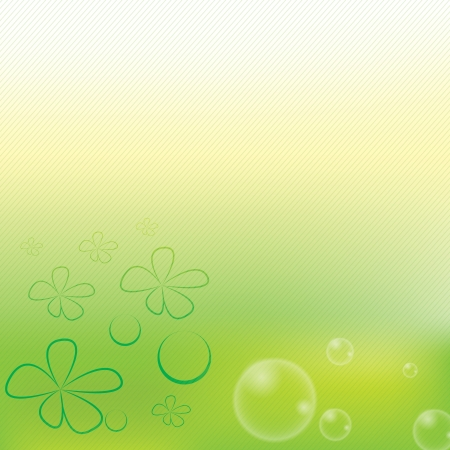 Beautiful green stripe spring background Stock Vector - 16656202
