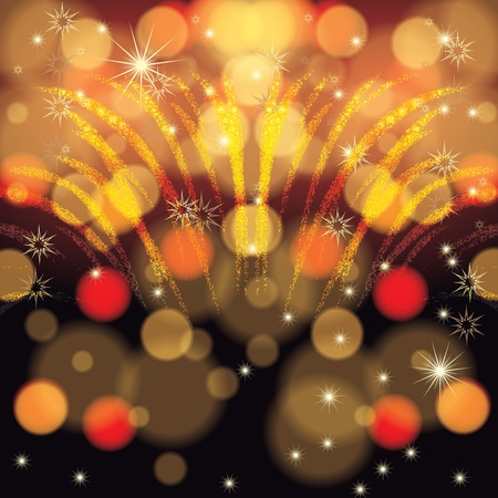 new year's eve: Abstract winter Christmas New Year background