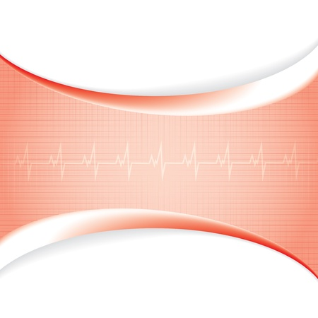 Abstract red grid medical background Stock Vector - 17614018