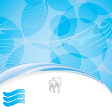 Abstract dental illustration of teeth Stock Vector - 17923603