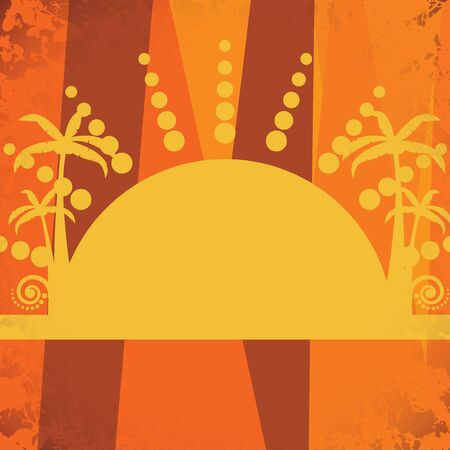 Sun summer abstract background Stock Vector - 18545354