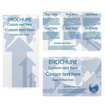 Vector Brochure Layout Design Template business Vector