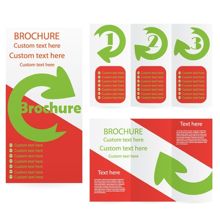 Brochure Layout Design Template abstract Stock Vector - 19250202