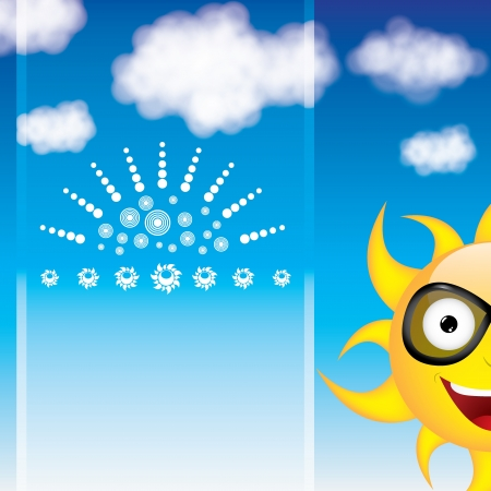 Summer day background  Stock Vector - 20329868