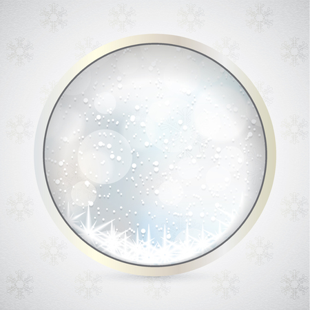 silver white: Abstract winter silver white snowflakes background