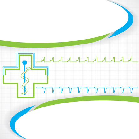 energy grid: Abstract blue grid medical background