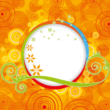 fun: Abstract colorful summer fun illustration Illustration