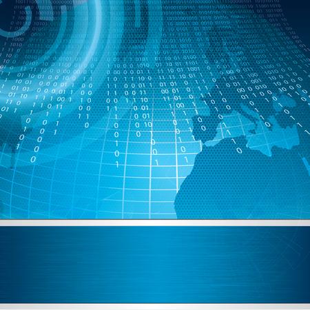 matrix code: Brochure Layout Design Template business
