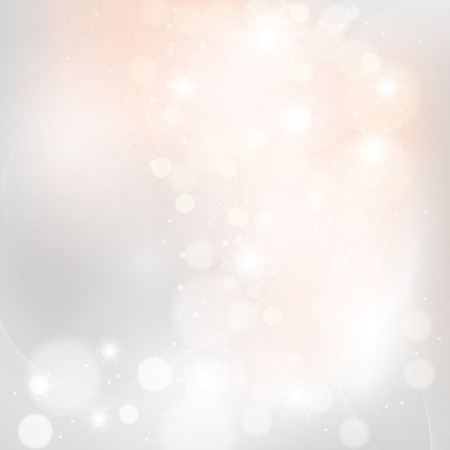 sparkle background: Abstract winter light colors snowflakes background