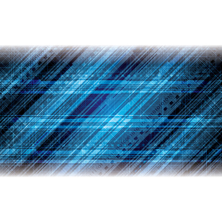 nole: Abstract tech binary blue background Illustration