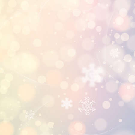 winter colors: Abstract winter light colors snowflakes background