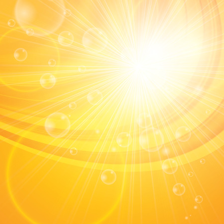 sunshine: Sunny abstract background. Hello spring, summer