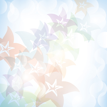 flower banner: Colorful summer spring background with flowers