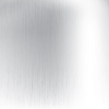 Abstract metallic silver vector background Vectores