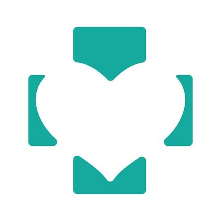 Verde médica símbolo farmacia Resumen