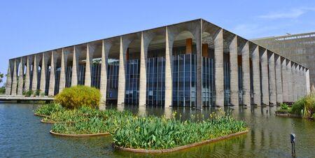 oscar niemeyer: Itamaraty Palace Of Brasilia Designed by Oscar Niemeyer