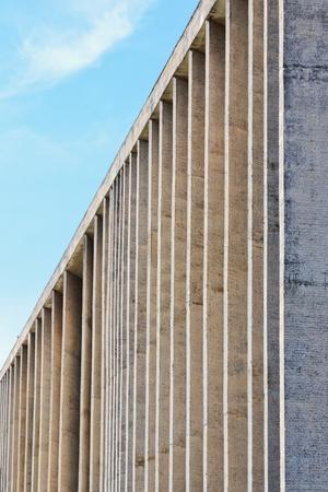 oscar niemeyer: Justice Palace of Brasil designed by Oscar Niemeyer