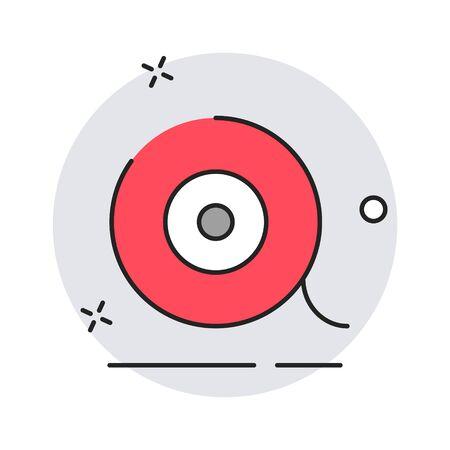 Scotch icon. Modern flat design style. Vector simple illustration icon for web site page, marketing, mobile app, design element on white background Reklamní fotografie - 131518682