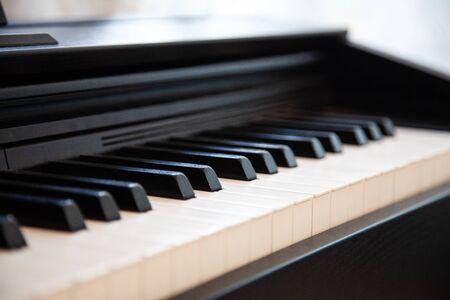 black white keys old for piano musicians